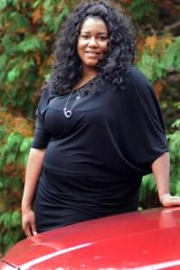 Featured singer Michelle Brooks-Thompson appears with the Amherst Area Gospel Choir